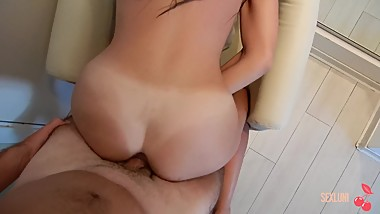 Girl picked up for money in a hotel (Part 2) SEXLUNI