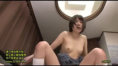 Japanese Schoolgirl Fucked by her Brother
