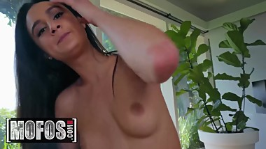 MOFOS - Uninvited Houseguest Eliza Ibarra gets fucked by perv