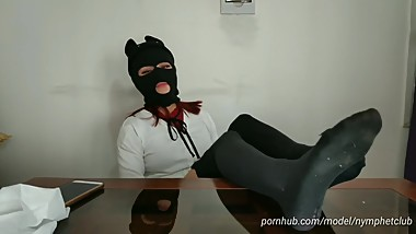 CUM ON MY FEET JOI / VIRTUAL SPIT FOOTJOB