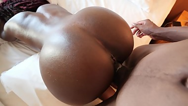 Perfect Body Ebony Fucked Doggystyle POV - MrandMrsBond