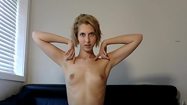 Teen armpits fetish JOI - licking + sniffing trailer - Twitter @camgirljade