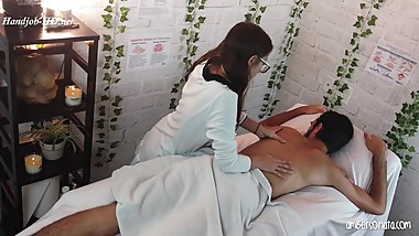 Amber Sonata in Massage Parlor Hidden Cam & Happy Ending