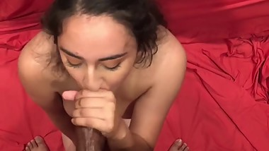 Catholic Latina goes Wild for BBC