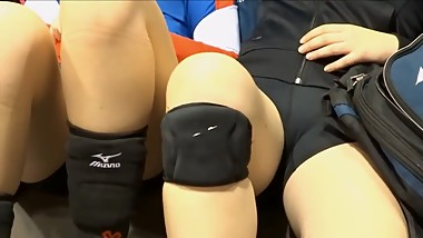 Volleyball asses