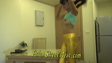Thai Nymph Pretends To Be A Good Girl