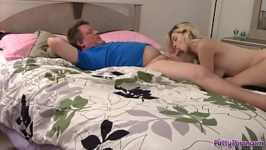 Stepfather Fucks Horny Teen Stepdaughter