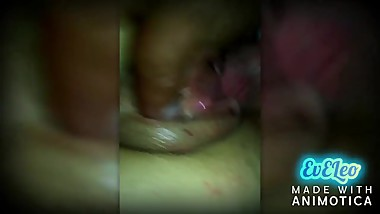 Fit Teen With TIght pussy get creampie from husband friend Real Slut