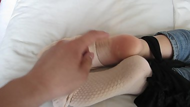 "tickle Chinese girl""s feet"