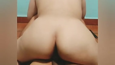 Chubby Teen Riding My Dick POV