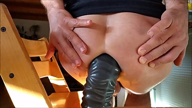 Big Toy Fun With Dildo