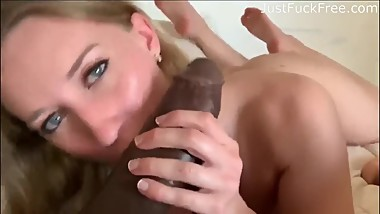 Hot Blonde Teen Gets Fucked By A Huge BBC