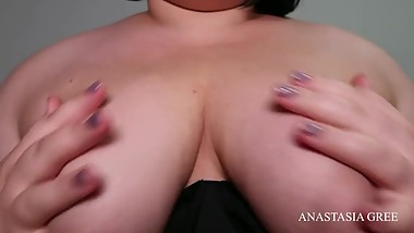 JOI cum on my tits