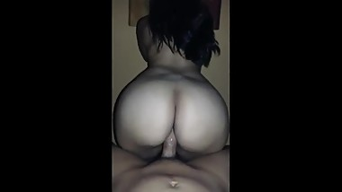 White Big Ass Teen Riding Her Ex-Boyfriend (She Missed He's Dick