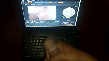 Jerking off to Kim Kardashian leaked sex tape Pt3