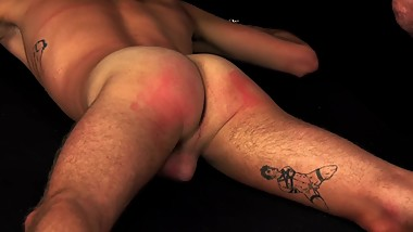 HOT TWINK SPANKED & FUCKED WITH MACHINE - DREAMBOYBONDAGE.COM